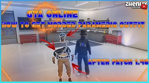 GTA ONLINE   How to Get ?Paramedic Modded Outfit? Using