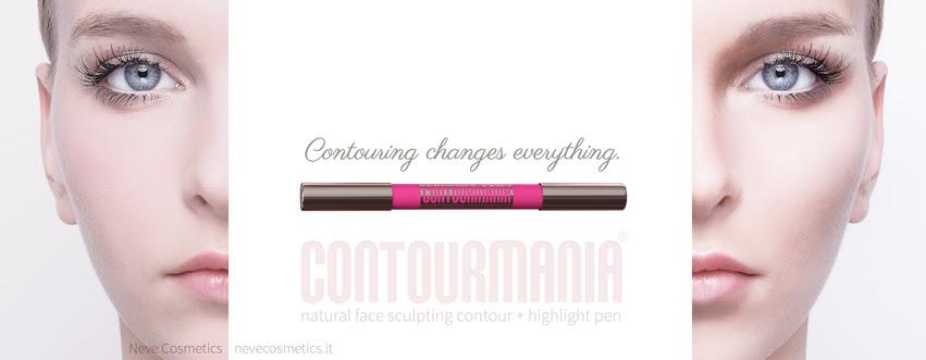 CONTOURMANIA. Natural face sculpting contour by Neve Cosmetics