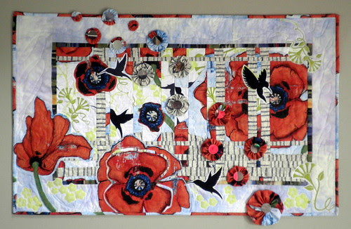 ENTRY for Project QUILTING - Large Scale Print - Spring Converges