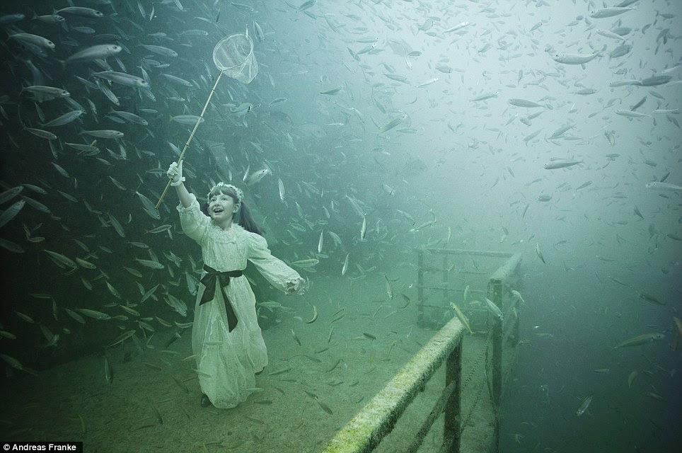 Pameran Foto Bawah Laut yang Menakjubkan, Andreas Franke