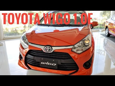 Video: 2019 Toyota WIGO 1.0E MT | Features & Specs (Philippines)