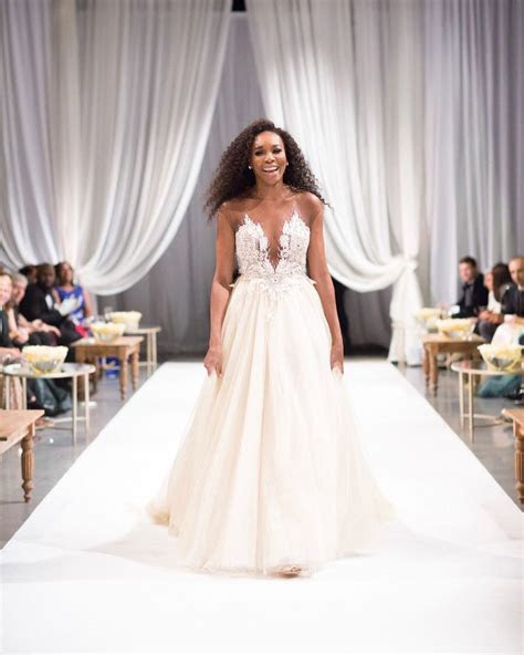 Serena Williams Looks Beautiful In Her Strapless Wedding