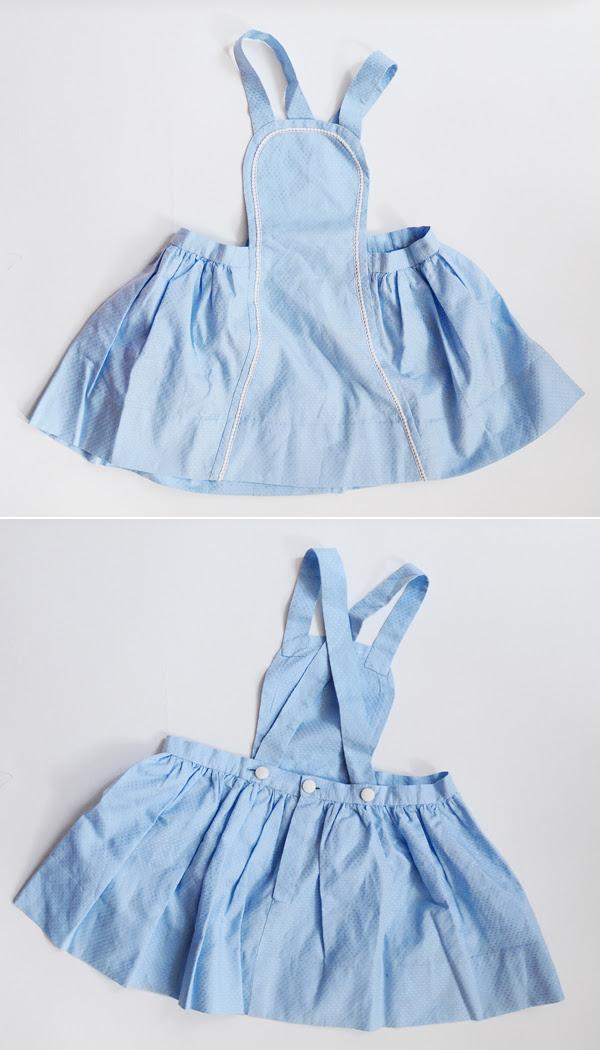 blue little dress