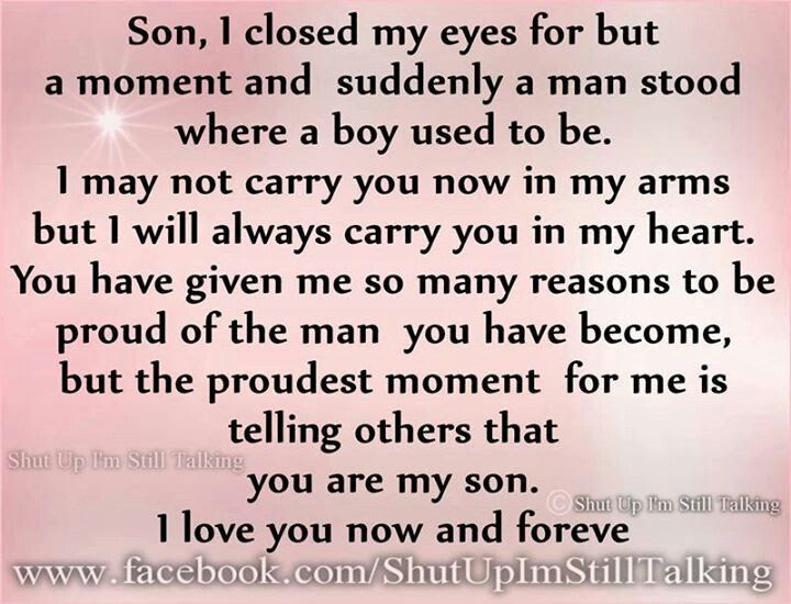 Quotes About Handsome Son 23 Quotes