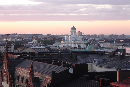 Helsinki Cathedral at 11 p.m. on June 21st 2007