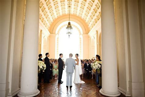 Wedding ceremony in Pasadena city hall. ( #wedding #