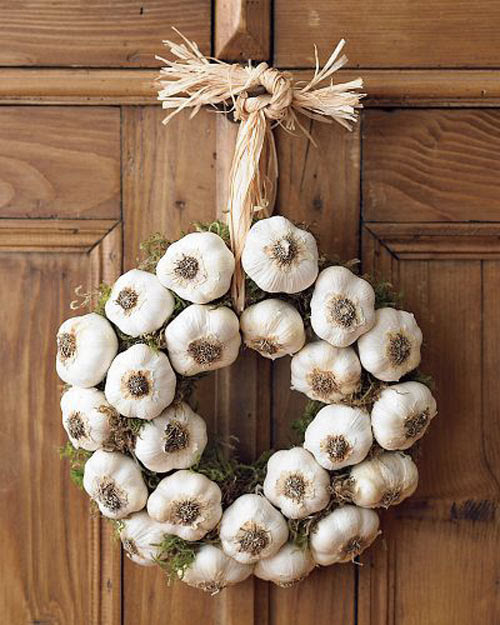 http://sporeflections.files.wordpress.com/2009/03/garlic-wreath-on-the-door.jpg