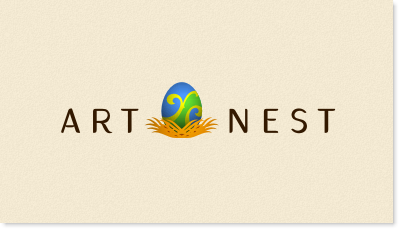 """an online marketplace and gallery, using multimedia - blogs, video, virtual """"walls"""" artists and consumers can find each other. Consumers can find art that they love and artists can find their patrons logo design"""