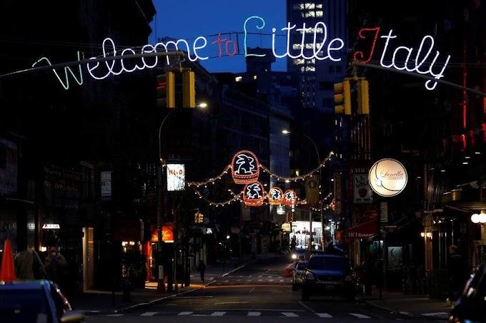 """Νέα Υόρκη: Στην """"πόλη που δεν κοιμάται"""", τώρα μένεις σπίτι"""