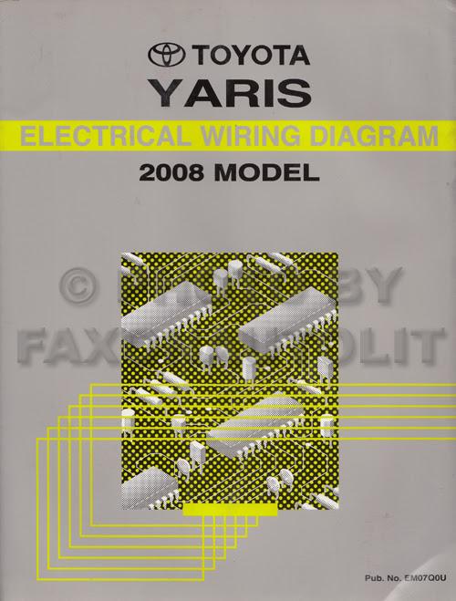 2007 Toyota Yaris Electrical Wiring Diagram Pdf