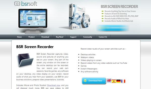 bsrsoft 8 Aplicaciones gratis para grabar la pantalla del ordenador