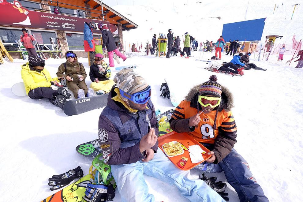 Дизин — самый крупный горнолыжный курорт Ирана