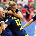 """Sverige - Nederländerna • Lotta Schelin om känslorna: """"J..."""