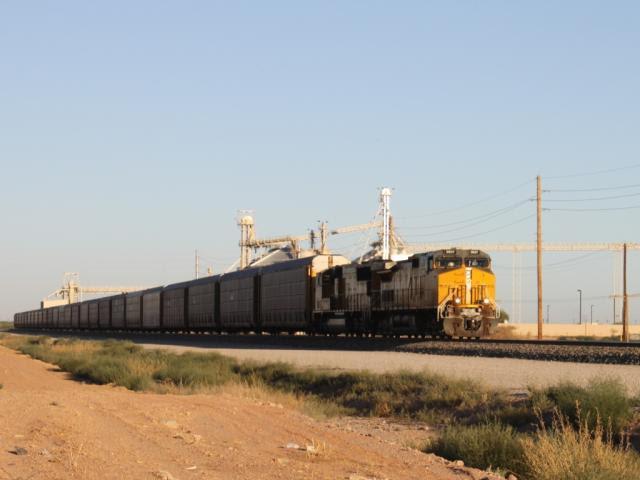 UP 9657 in Maricopa, Arizona