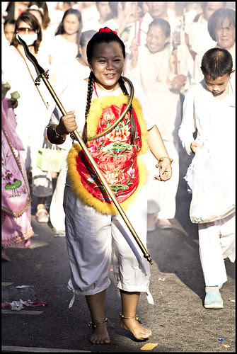 Female Ma Song in the Jui Tui shrine procession