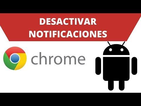 Cómo desactivar las notificaciones de Google Chrome en Android