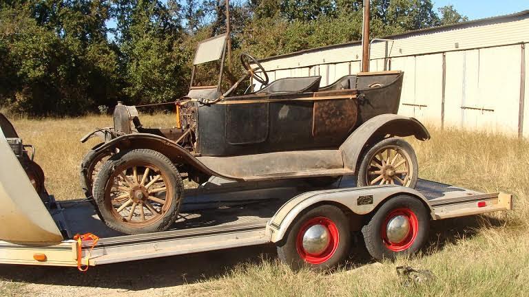 Model T Ford Forum: 24 Touring Barn Car Revival