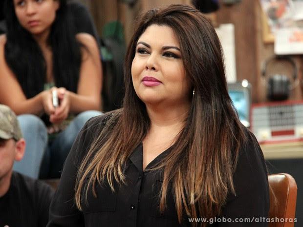Fabiana Karla participa do programa Altas Horas deste sábado (Foto: TV Globo/Altas Horas)
