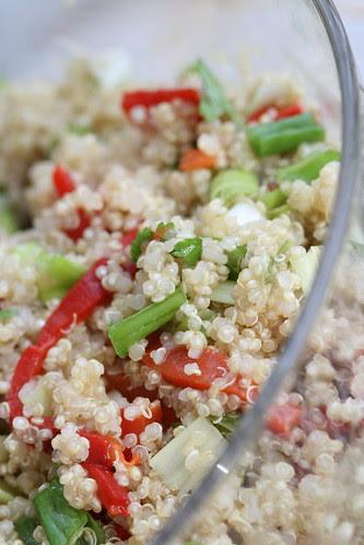 Quinoa salad / Värvikirev kinoasalat