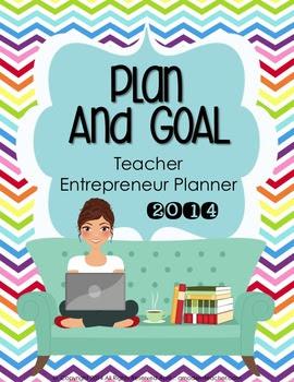 2014 Plan and Go :: Teacher Entrepreneur Planner (Chevron)