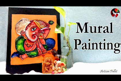 3d Clay Mural Painting