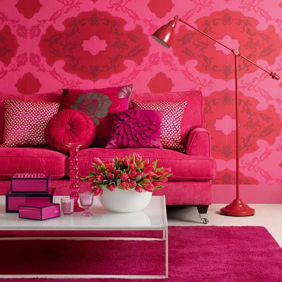 pink houses decor interior design colors