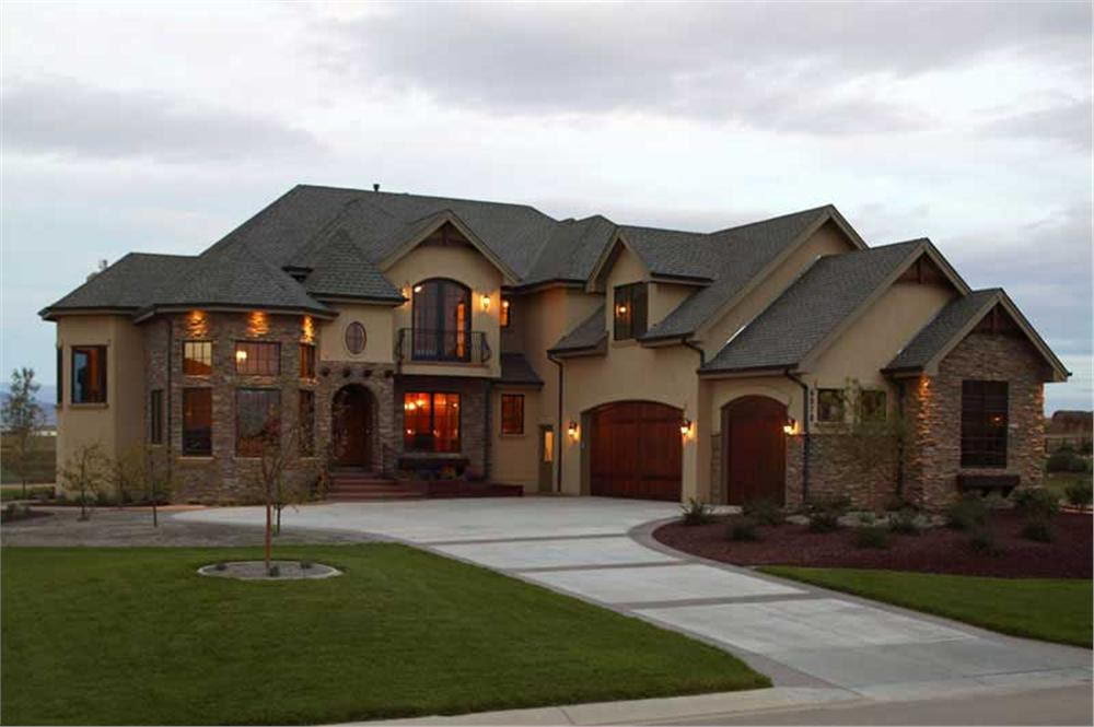 Big Nice Houses Pool Home Design - Architecture Plans | #43770