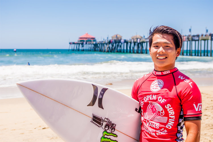 Hiroto Ohhara: one of the stars of Japanese surfing | Photo: Lallande/Vans