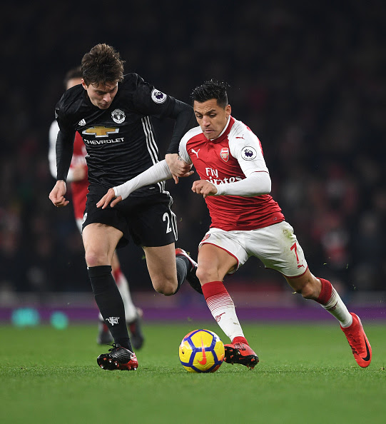 Image result for victor lindelof vs arsenal