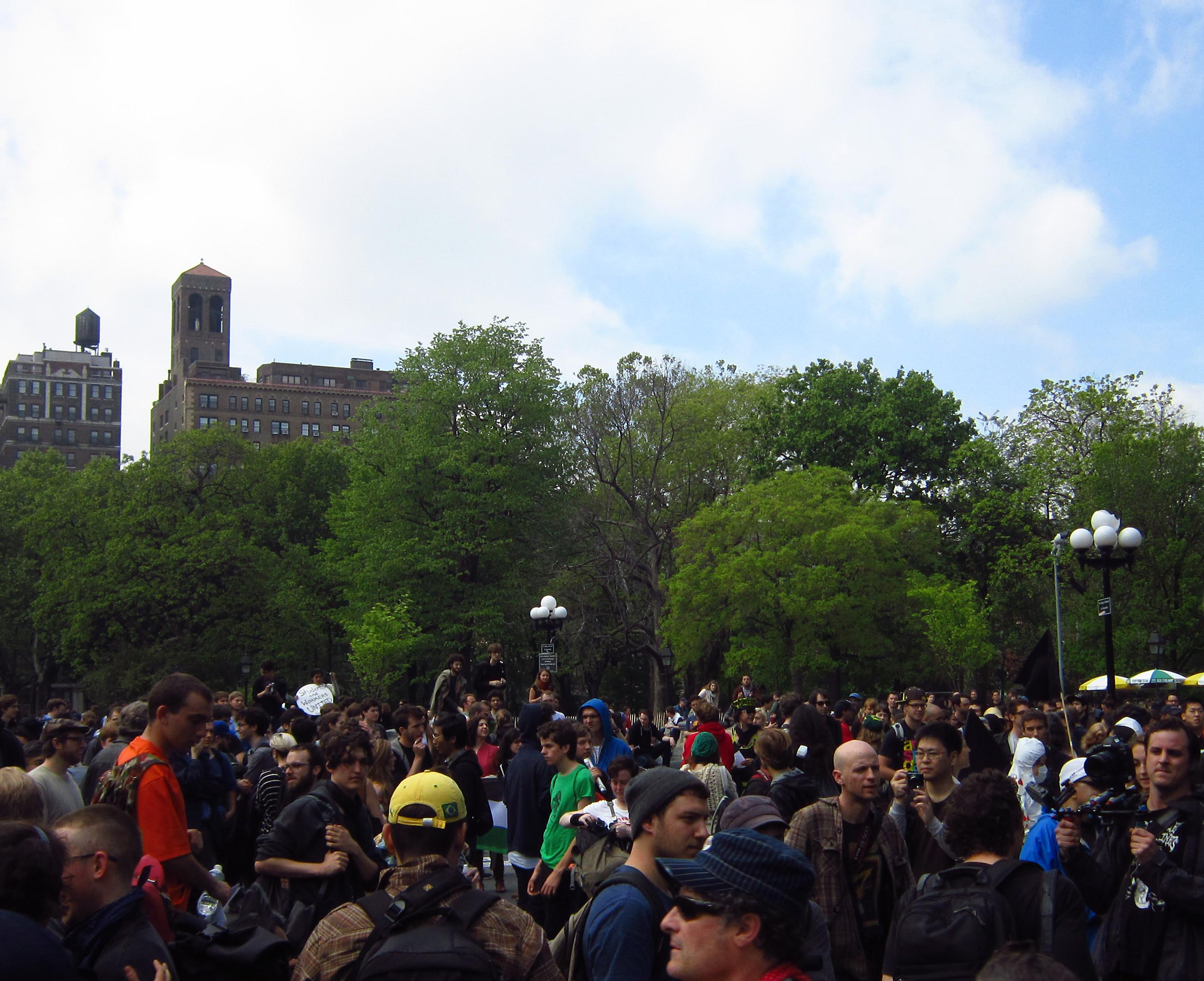 OWS - Washington Square Park