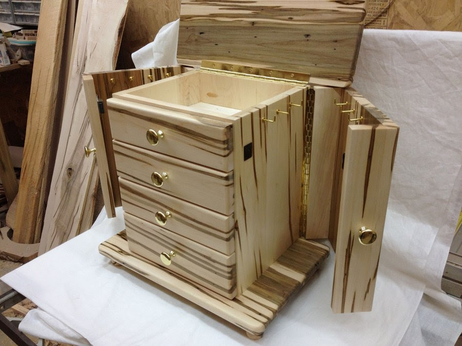 Jewelry Armoire Plans Star, Jewelry Armoire Design Plans