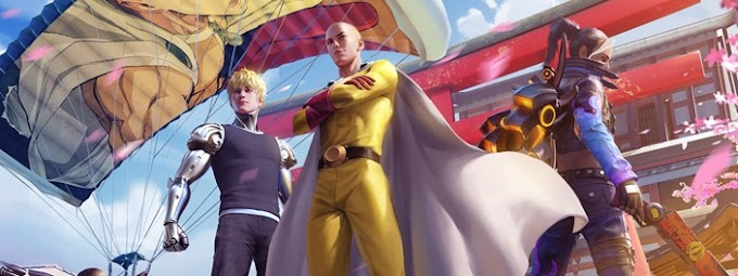 Garena Free Fire Announces Partnership with One-Punch Man