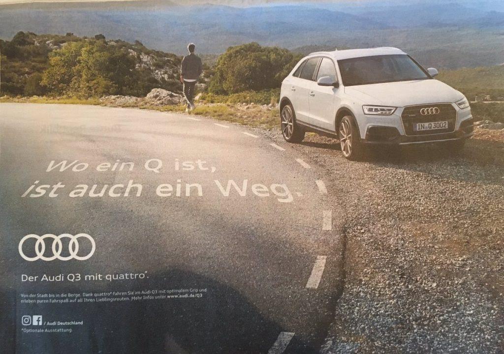 Kann Auto-Werbung gefährlich werden? | It started with a ...