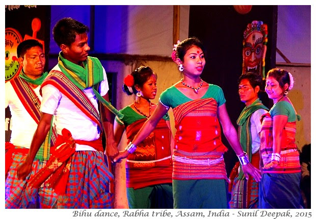 Cultural events in Guwahati, Assam, India - Images by Sunil Deepak