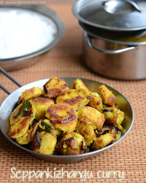 Seppankizhangu curry