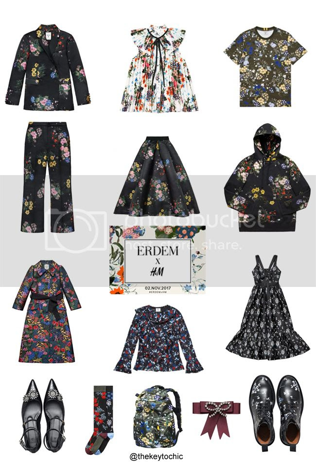 Erdem HM Lookbook