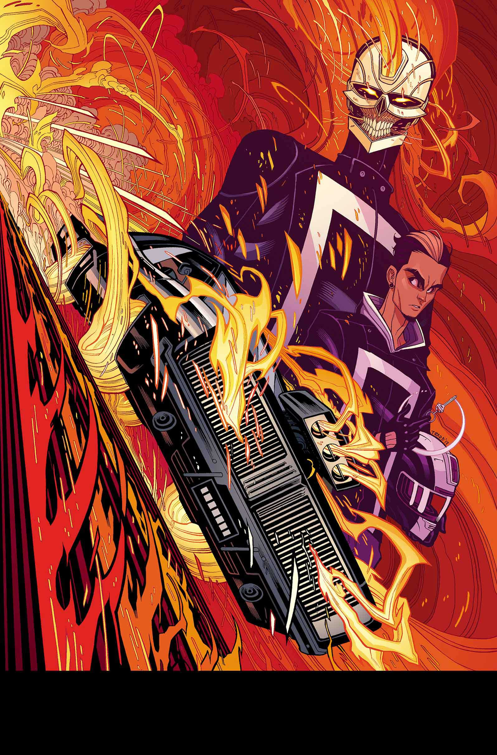 Your First Look At All New Ghost Rider 1 Major Spoilers Comic