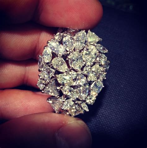 liberace style mens ring diamond guy hawaii