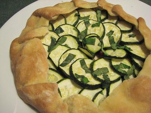 Vegan Zucchini Galette