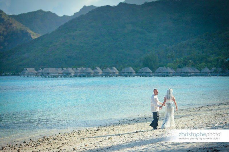 wedding in french polynesia