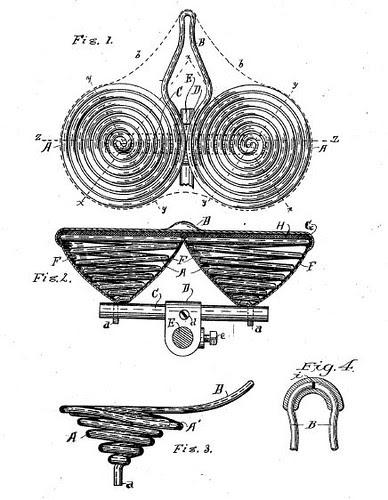 Patent for Bike Saddle 554337