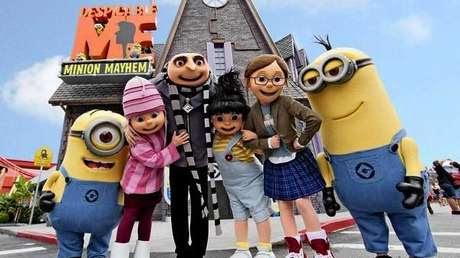 'Minions' inauguran su propia atracción en Universal Studios