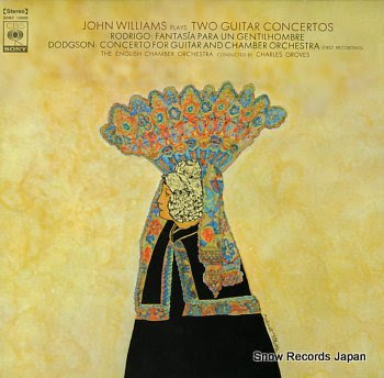 WILLIAMS, JOHN rodrigo; fantasia para un gentilhombre