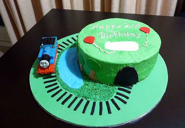 Thomas Tank Engine Cake Decoration Kit : A delicious. Year: Cake Decorating - Thomas the Tank Engine