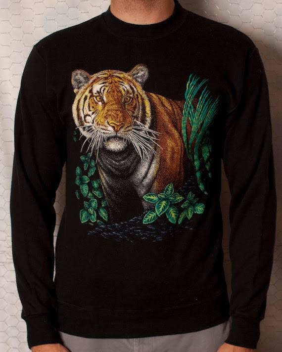 Awesome Tiger Sweatshirt - L
