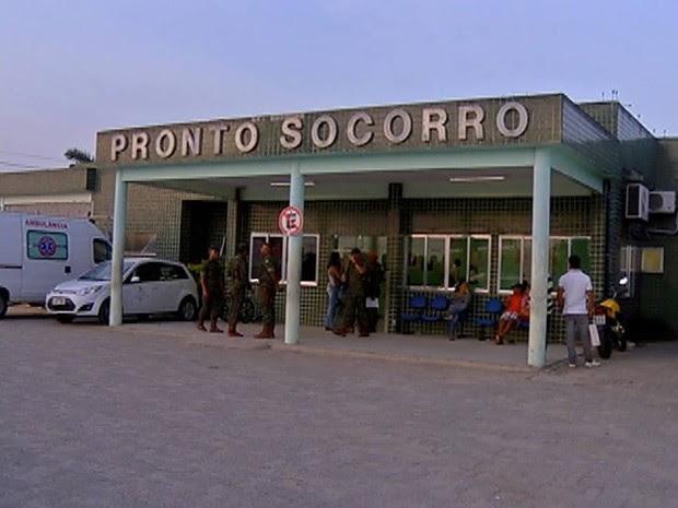 Militares foram para a UPA de São Pedro (Foto: Reprodução / Inter TV)