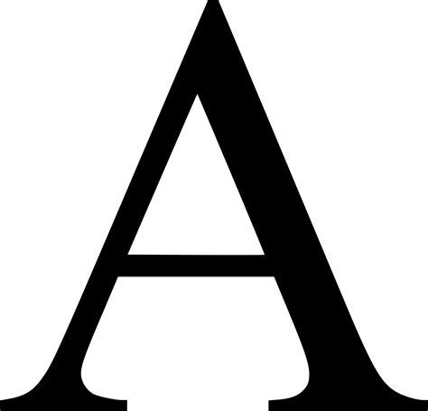 Letter A PNG images free download, a png