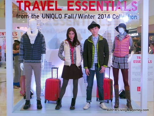 Woman In Digital Uniqlo S Fall Winter 2014 Collection