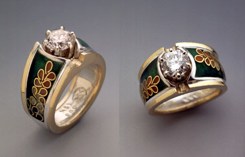 Joan Strott-Alvini Engagement Ring