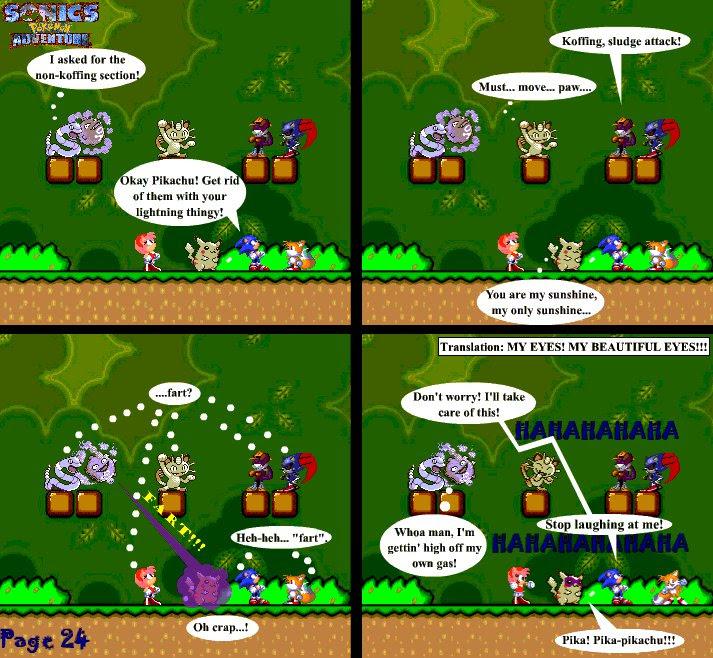 Sonic39;s Pokemon Adventure  a sprite comic!